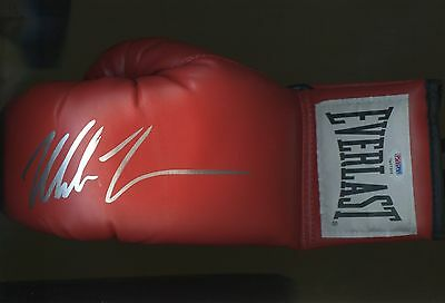 Mike Tyson HOF Signed Full Size Boxing Glove Autograph PSA/DNA Sticker ONLY