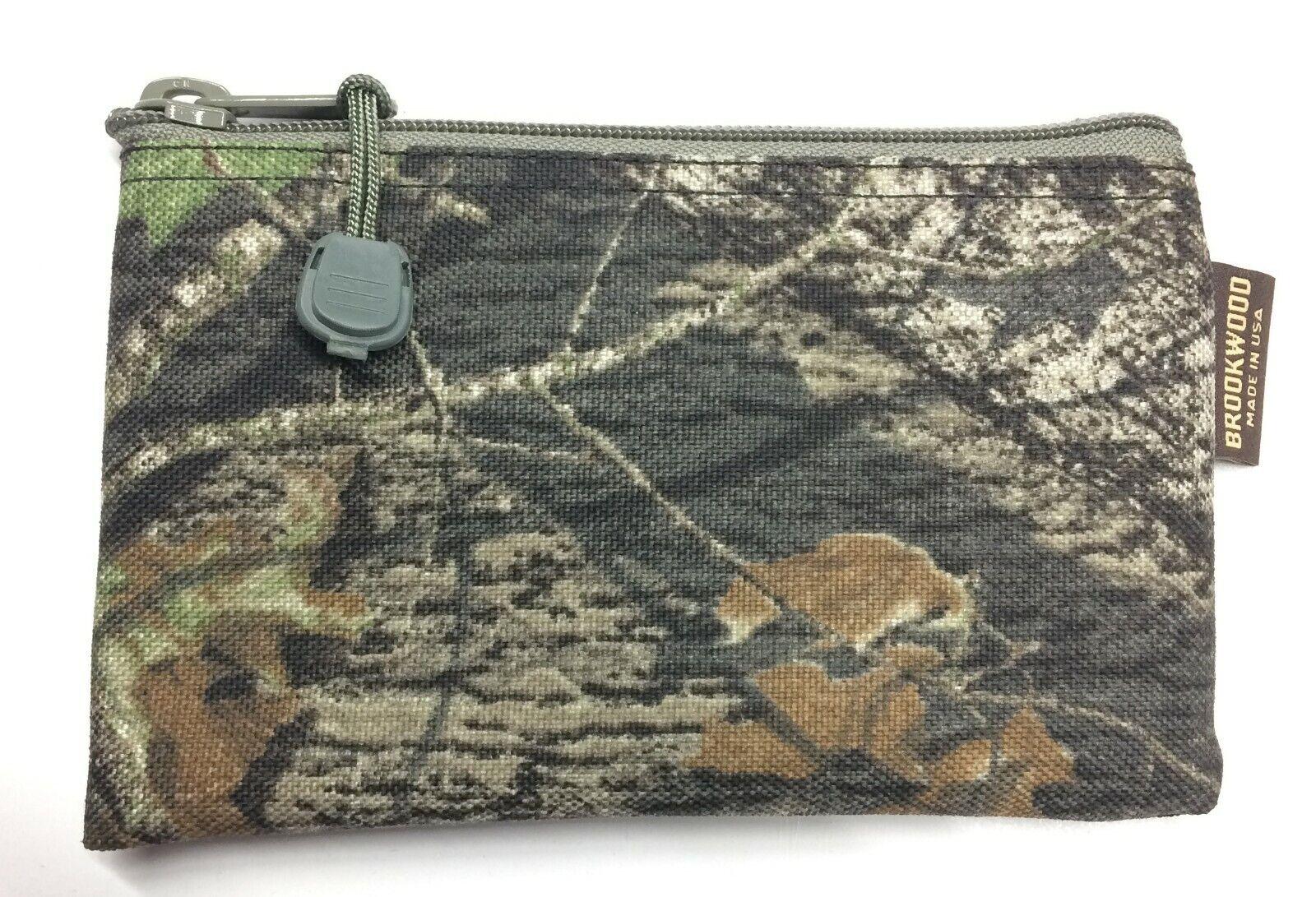 2 pcs. Mossy Oak Cordura Zipper Tool Bag Small size 4 x 7 In