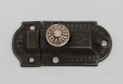 Vintage Cast Iron Cabinet Latch