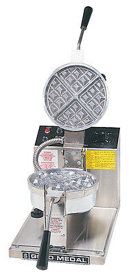 Waffle Baker Machine Maker Gold Medal 5042