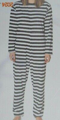 Gefangenenkostüm,Gefängnis Kostüm,Verkleidung, Erwachsene,ohne Sitz, 2 - Gefängnis Kostüme