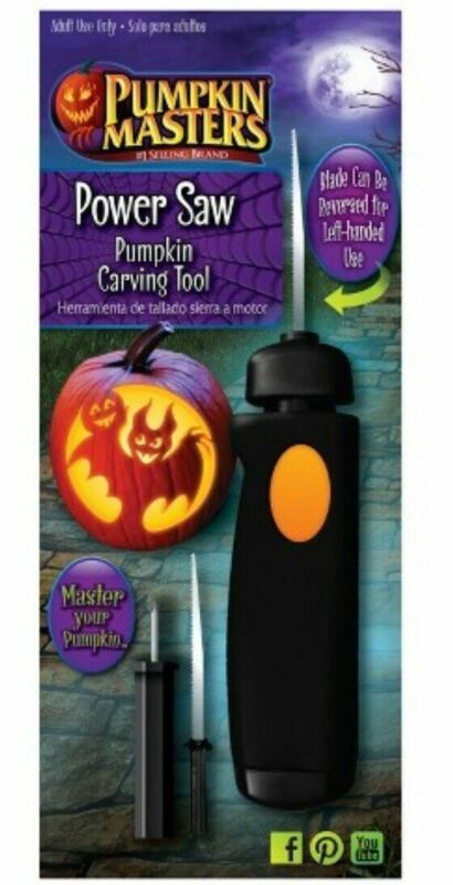PUMPKIN MASTERS Power Saw Pumpkin Carving Tool - Extra Blade - NEW