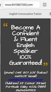 One-on-One Conversational English Lessons (City & Valley) Fortitude Valley Brisbane North East Preview