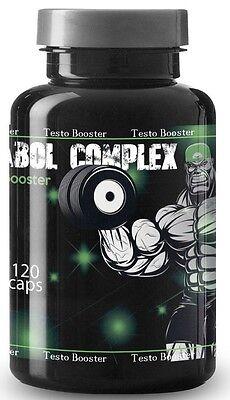 Testosteron Booster 120 Kapseln Muskelaufbau Extrem Anabole Schnelle Wirkung