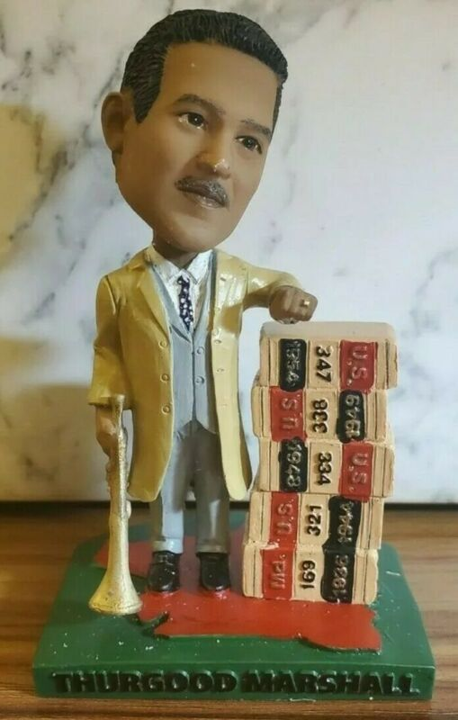 Green Bag Bobblehead Supreme Court Justice Thurgood Marshall (620 of 1248) w/box