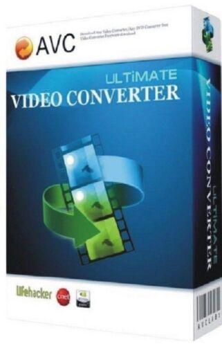 Ultimate Video Converter Full Version  - Windows - DVD Ripper - Instant Download