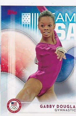 2016 Topps Olympics Gymnastics Gabby Douglas Trading Card Virginia Beach Va