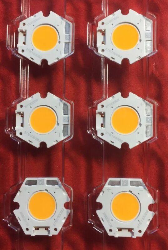 6 pcs -BXRC-27E1000-B-23 Bridgelux Vero10 LED Array; 2700K, 1000lm 80CRI