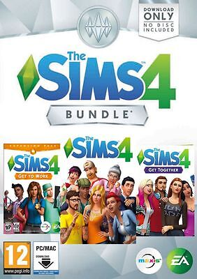 The Sims 4   Get To Work   Get Together Expansion Bundle Dlc Pc Mac  Origin
