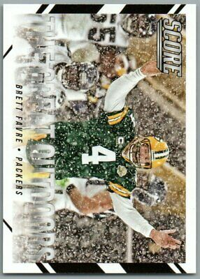2015 Score The Great Outdoors #11 Brett Favre Green Bay Packers Great Outdoors Bay