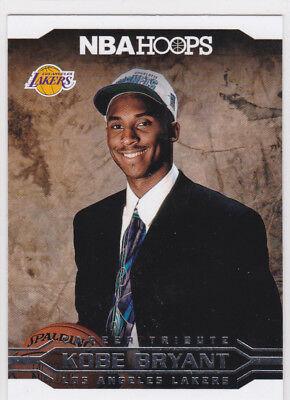 KOBE BRYANT 1996 NBA Draft Day Pick HORNETS Basketball Card LOS ANGELES LAKERS!