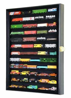 12 Shelves N Scale Train Model Trains Display Case Cabinet Wall Shelf Rack