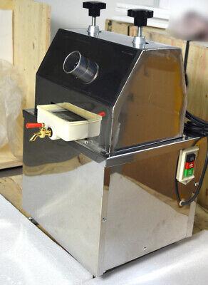 Commercial Desktop Mini 110v Electric Sugar Cane Juicer Press Machine Drink Make