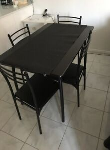 Geo Dining Table and 2 chairs