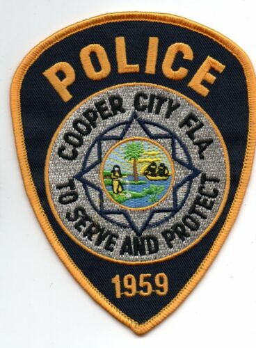 COOPER CITY Florida Police Patch