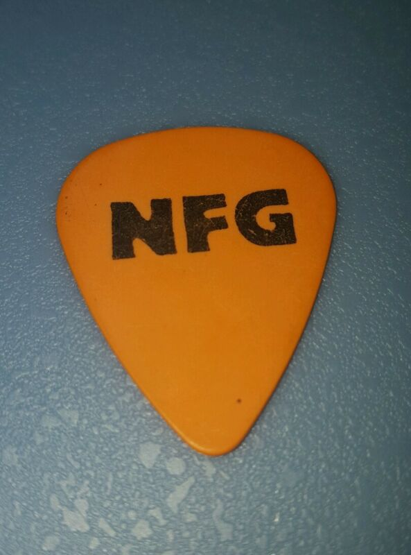 New Found Glory Orange Dog Guitar Pick - NFG