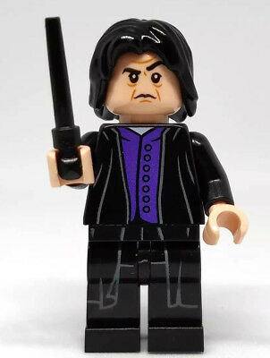 NEW LEGO SNAPE MINIFIG harry potter minifigure 75956 75953 professor severus