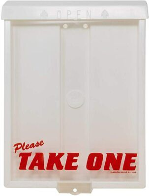 Outdoor Take One Brochure Box Document Holder Can Hold 200 8.5 X 11 Documents