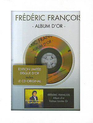 Frédéric François : Album d'or - Edition disque d'or (CD)