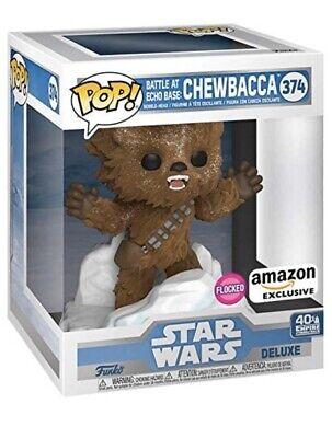 Funko Pop Star Wars: Chewbacca ~ Flocked ~ Battle at Echo Base ~