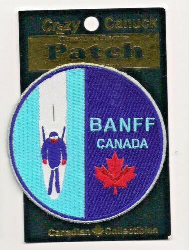 Banff  Alberta Souvenir Canada Ski Patch
