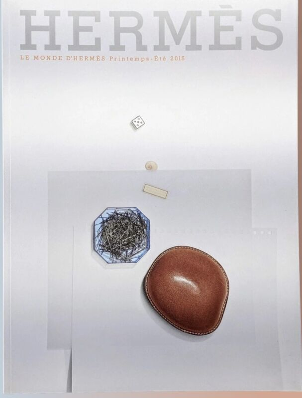 Hermes 2015 The World Le Monde Spring Summer Catalogue Magazine Collectible Mint