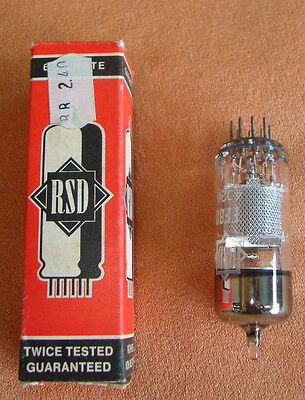 Elektronik Röhre EF 80 Elektronenröhre RSD  2605