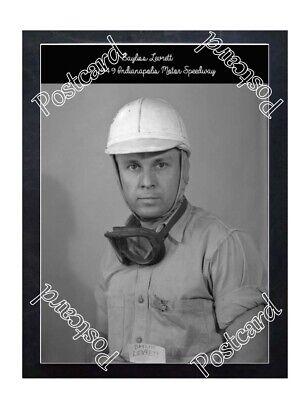 Historic Bayliss Levrett portrait 1949 Indy Postcard