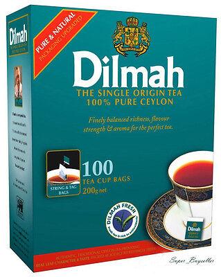 Sri Lanka - Ceylon, DILMAH Premium Black Tea Full Flavour 25