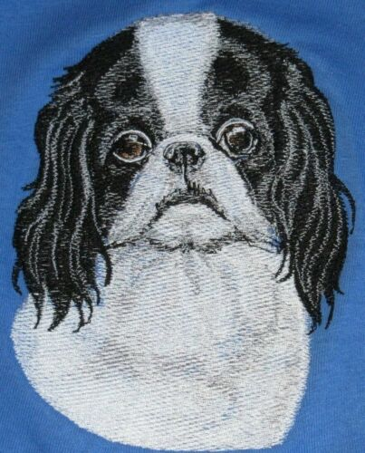 Embroidered Ladies Fleece Jacket - Japanese Chin BT3586 Size S - XXL