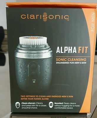 Clarisonic Men'S Alpha Fit Sonic Cleansing System New In Box Fast Shipper