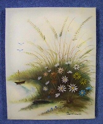 Original Stretched Canvas Oil Painting Seascape 8