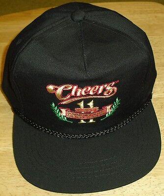 New Years Hat (Cheers hat 11 Years Commemorative 80's TV Snapback NEW! Sam MALONE)