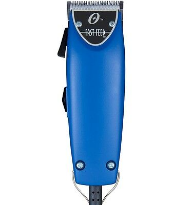 Oster Fast Feed Limited Ed Hair Adjustable Pro Clipper Blue