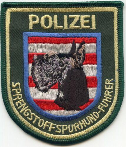 GERMANY GERMAN SCHNAUZER POLIZEI style #B K-9 POLICE PATCH