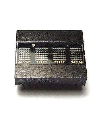 Siemens DLR 2416 4-Digit LED Punktmatrix, 5x 7 Dot Display, Rot, mit Decoder