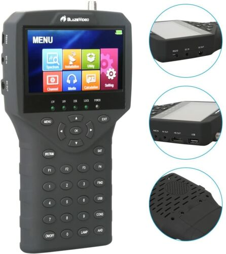 BlazeVideo DVB S/S2 Handheld 4.3