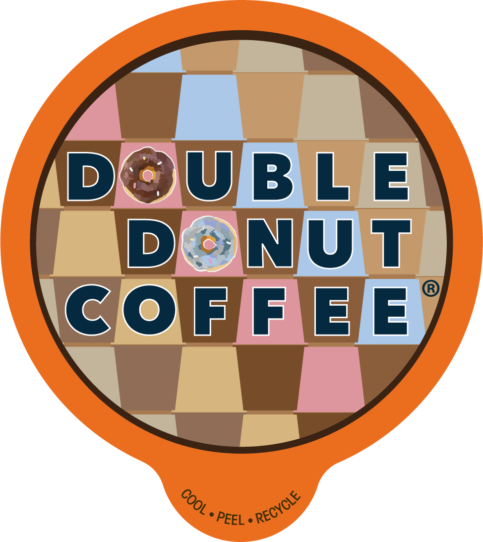 80-ct Double Donut Coffee K-Cups for Keurig 25 Cents A Cup C