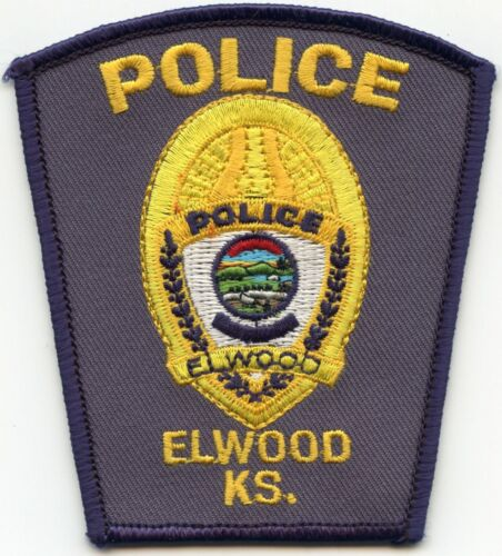 ELWOOD KANSAS KS POLICE PATCH