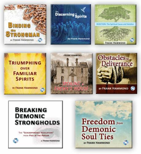 The Frank Hammond Audio Teaching Package - 8 CD Titles