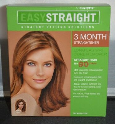 Easy Straight 3 Month Straightener Straight Styling Solutions One Application Easy Straight Straight Styling Solutions