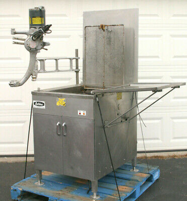 Belshaw Ng Gas Donut Fryer 718 Lcg New In 2011 Incs Model F Powered Depositor