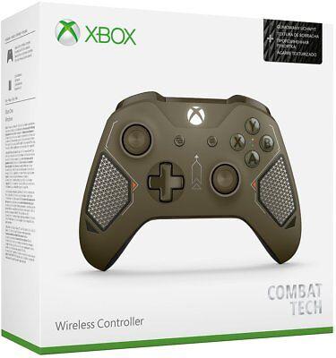 Xbox One Wireless Controller Combat Tech [XBONE Microsoft Windows 10 Remote] NEW