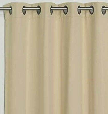 Best Home Fashion Basic Thermal Insulated Blackout Curtains - Antique