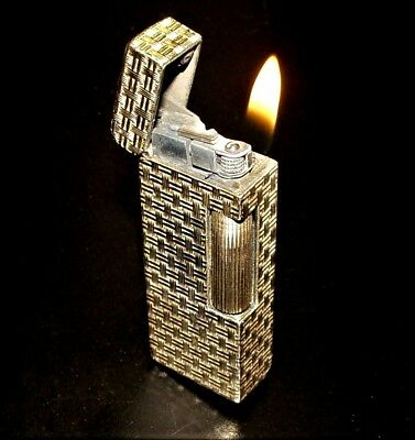 VINTAGE 14K GOLD CIGARETTE LIGHTER SPARKS 97 GRAMS