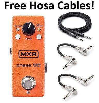 New MXR M290 Phase 95 Mini Phaser Guitar Effects Pedal! Phase 90 Mini