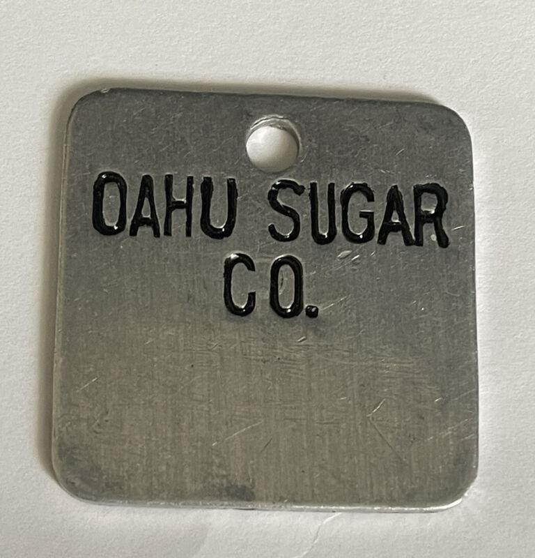 Vintage OAHU SUGAR CO. Plantation BANGO Tags 4335
