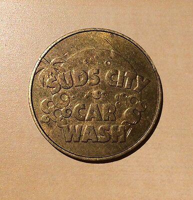 Suds City Car Wash Token One Dollar in Trade