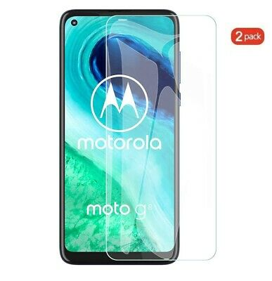 (2 Pack) Tempered Glass Screen Protector For Motorola Moto G8
