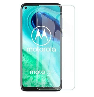 For Motorola Moto G8 Tempered Glass Screen Protector Case Friendly